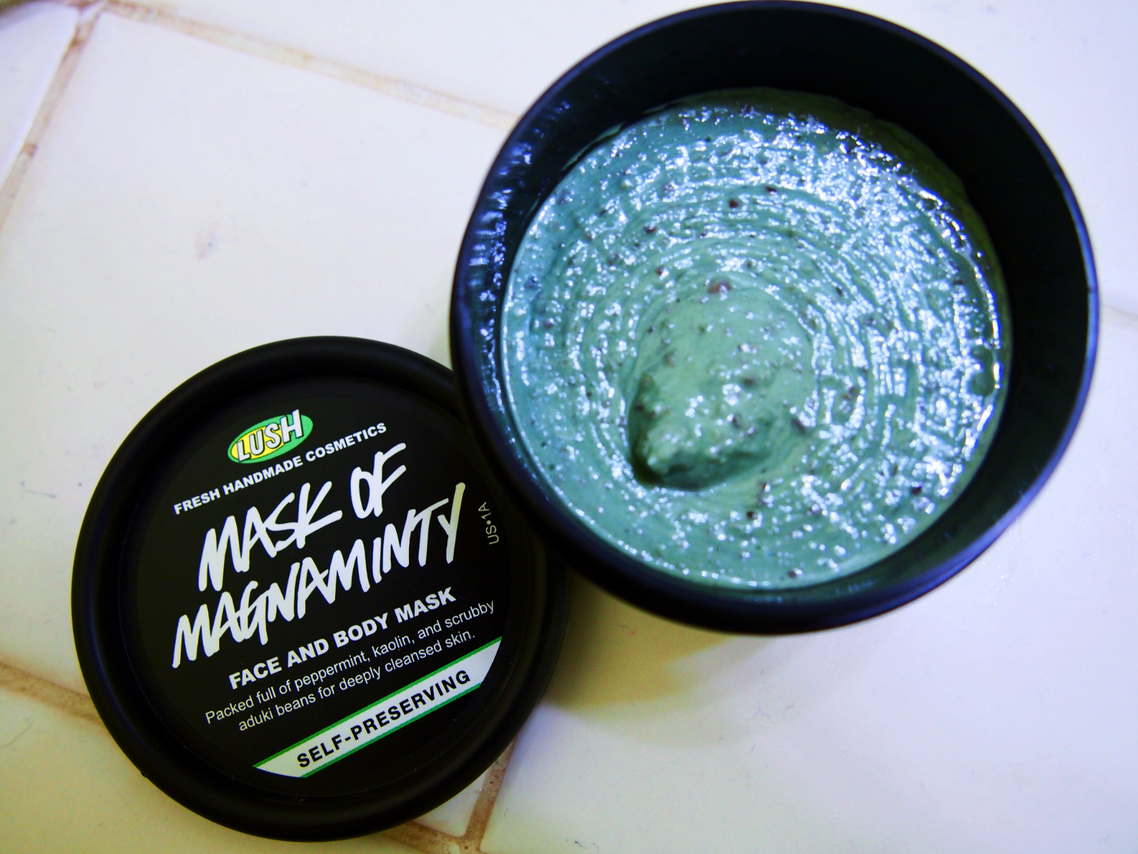 Lush Cosmetics Mask of Magnaminty Product Review