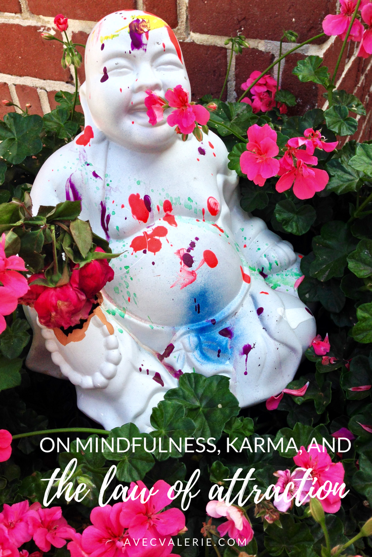 On Mindfulness, Karma, and the Law of Attraction