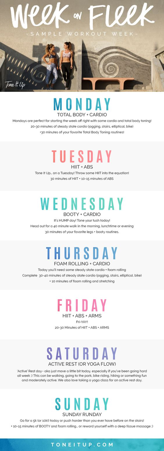 6 Ways to Stay Motivated at the Gym // Mix Up Your Workout Schedule