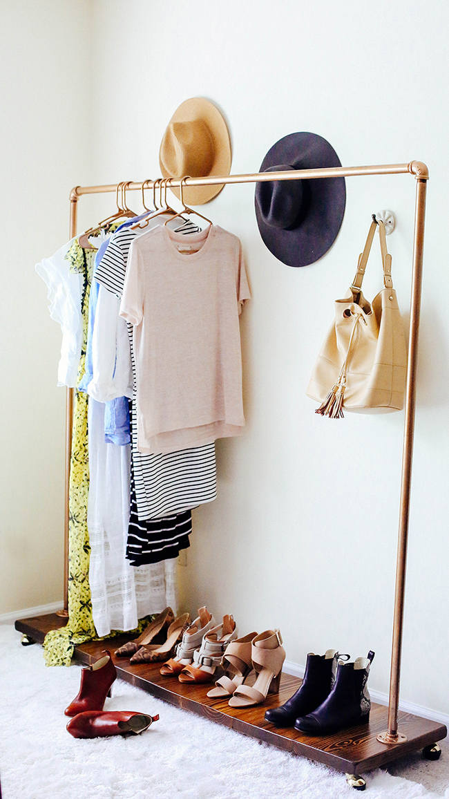 What's in My Dream Closet Space // Clothing Rack