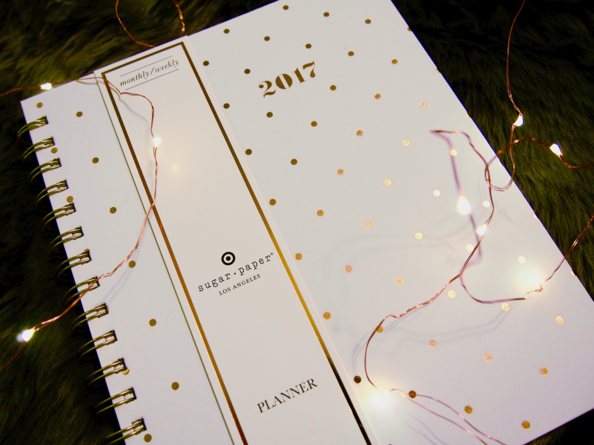 Avec Valerie's New Year, New Giveaway // 2017 Sugar Paper planner