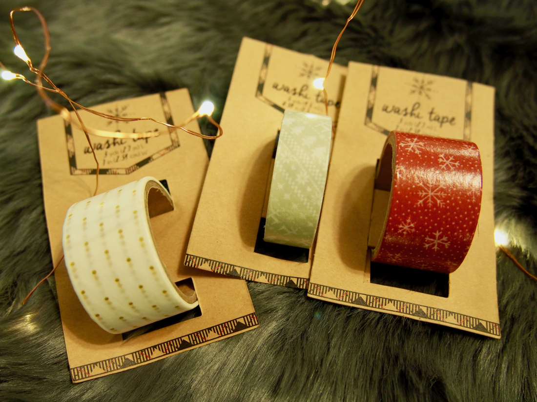 Avec Valerie's New Year, New Giveaway // (3) rolls of washi tape