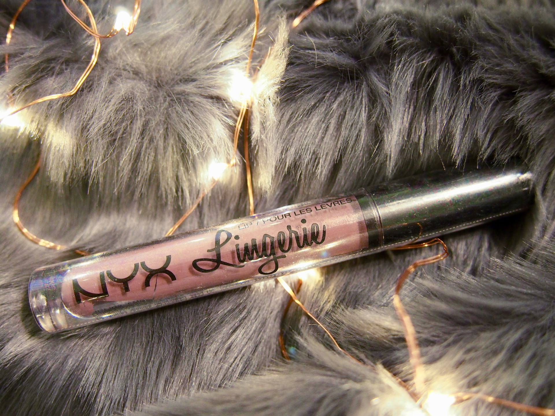 """Avec Valerie's New Year, New Giveaway // NYX Lip Lingerie in """"Embellishment"""""""