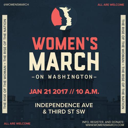 January 2017 Favorites // Women's March on Washington