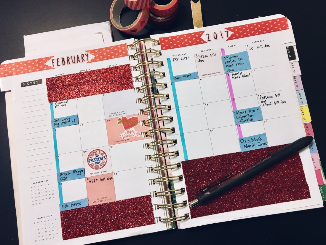 February 2017 Plan with Me