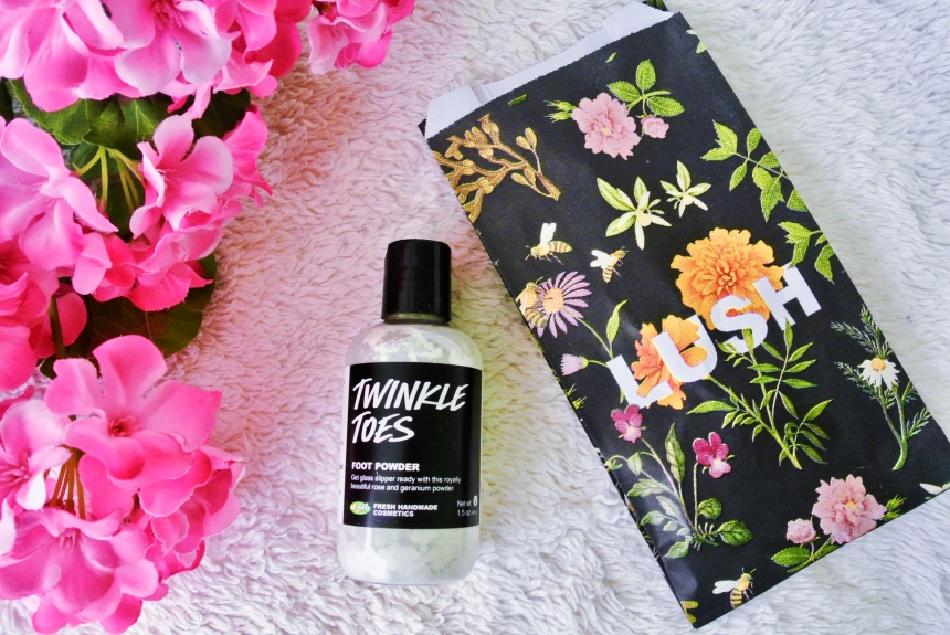 Lush Cosmetics Spring Mini-Haul // Twinkle Toes Foot Powder