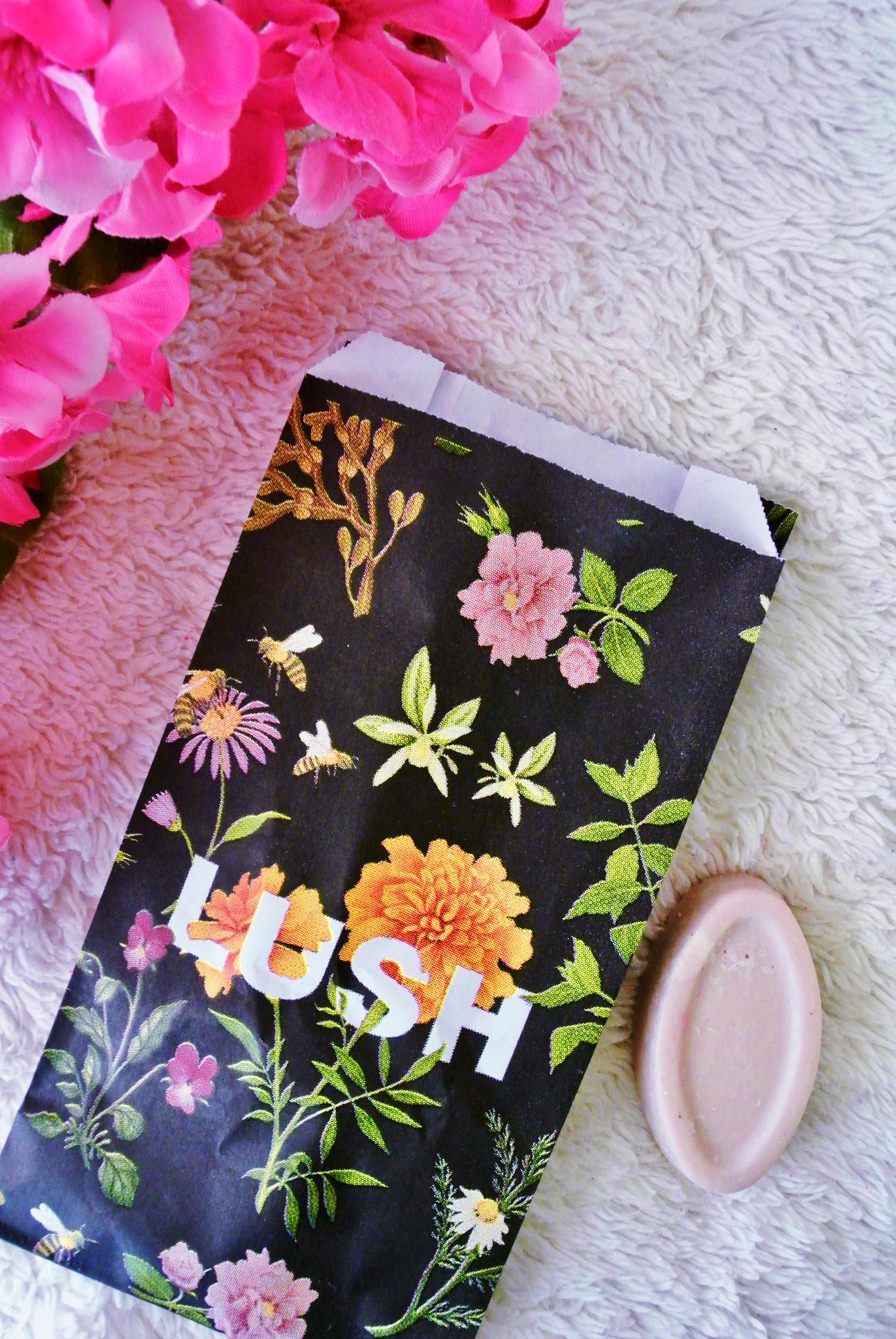 Lush Cosmetics Spring Mini-Haul // Full of Grace serum