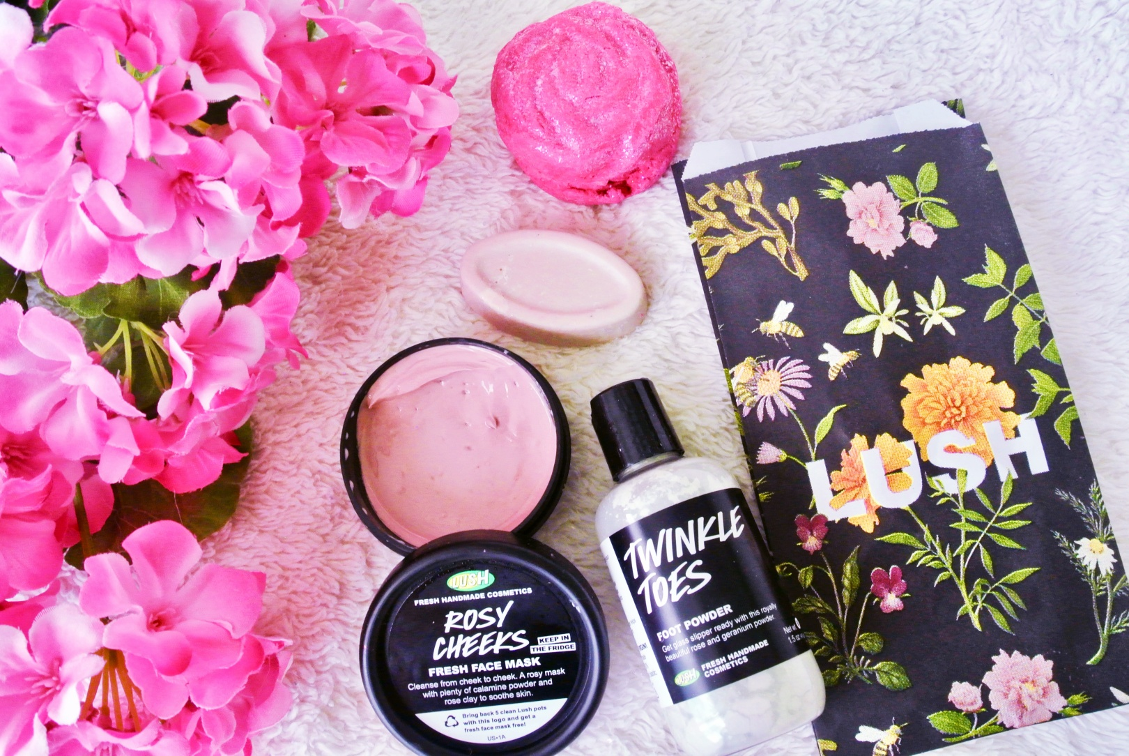 Lush Cosmetics Spring Mini-Haul