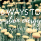 6 Ways to Sustain Energy Throughout the Day