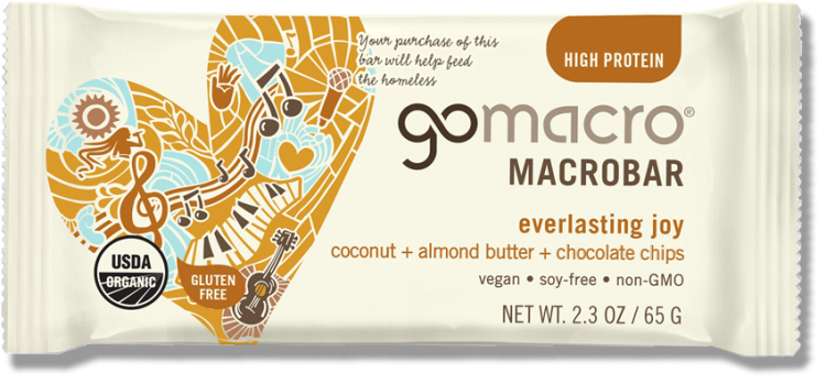 6 Ways to Sustain Energy Throughout the Day // GoMacro Everlasting Joy MacroBar