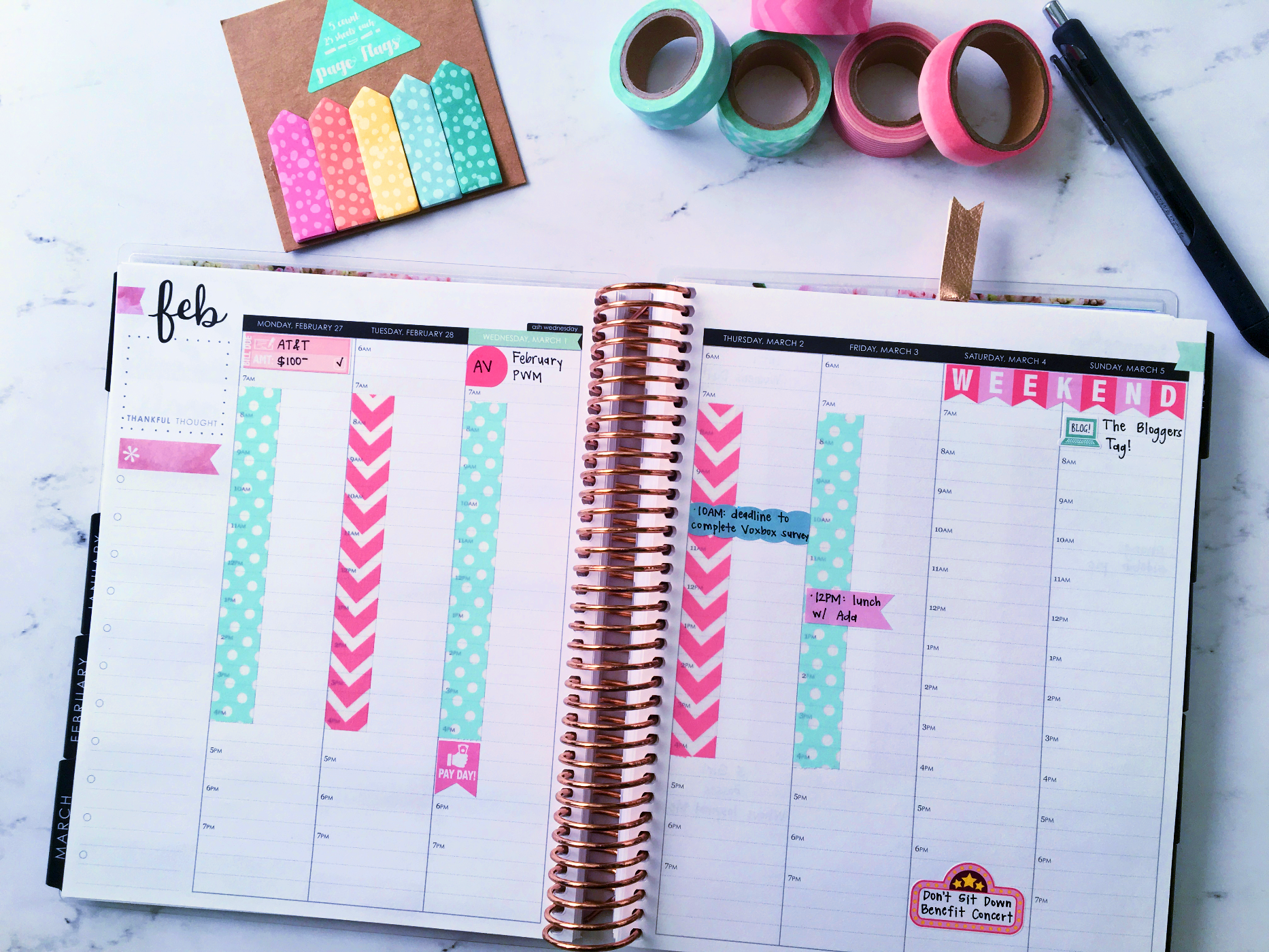 March 2017 Plan With Me // Week 1