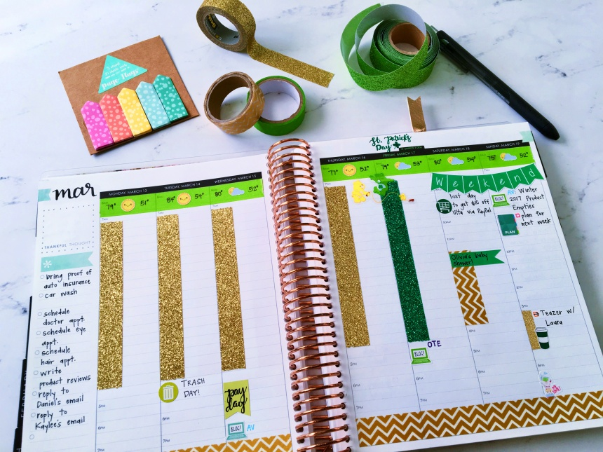 March 2017 Plan With Me // Week 3