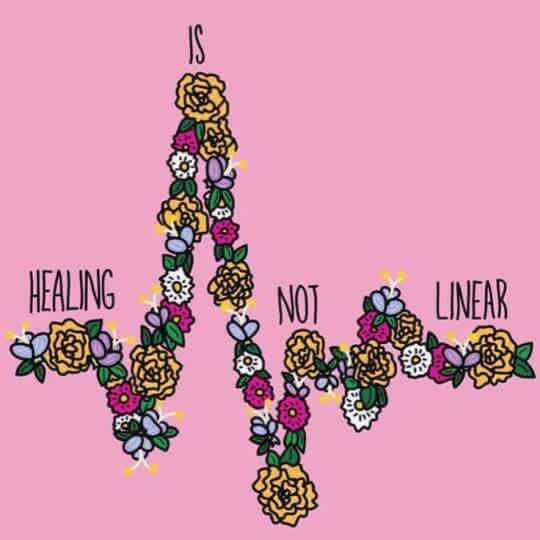 May is Mental Health Awareness Month // Healing is Not Linear