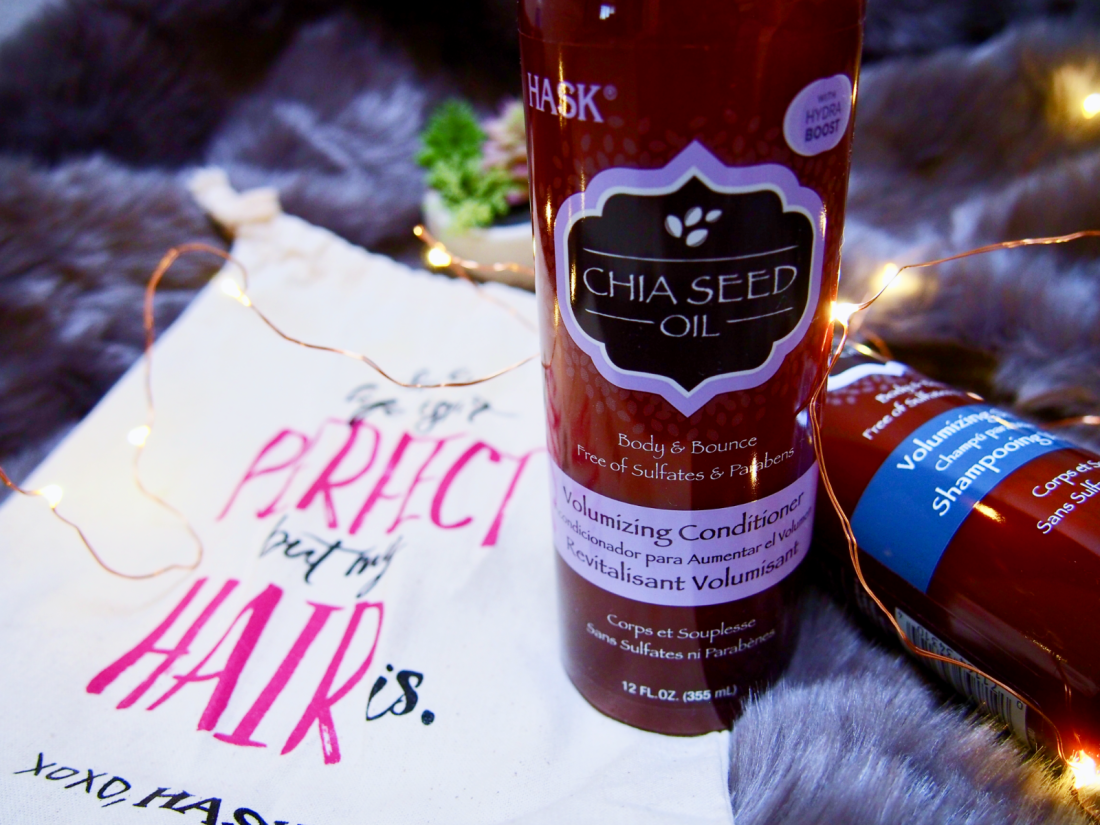 HASK Chia Seed Oil Volumizing Collection Product Review