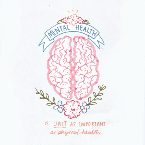 May is Mental Health Awareness Month // Mental health is just as important as physical health.