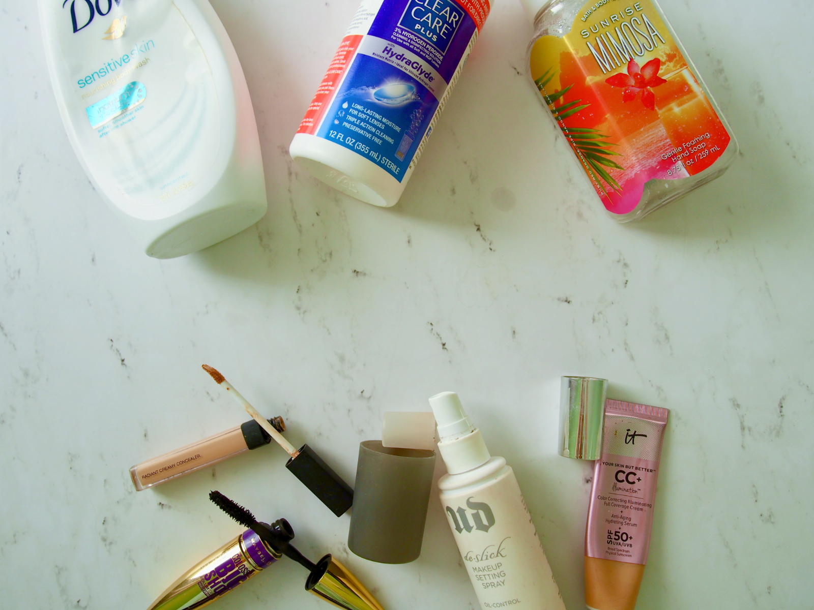 Spring 2017 Product Empties