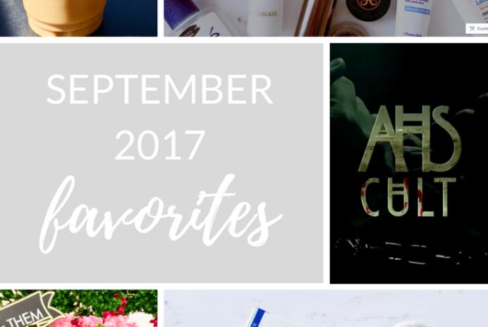 September 2017 Favorites