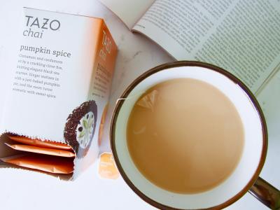 October 2017 Favorites | Tazo Chai Pumpkin Spice Tea