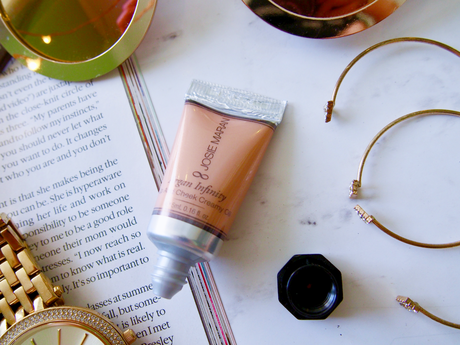 Josie Maran's Best and Brightest Argan Oil Essentials