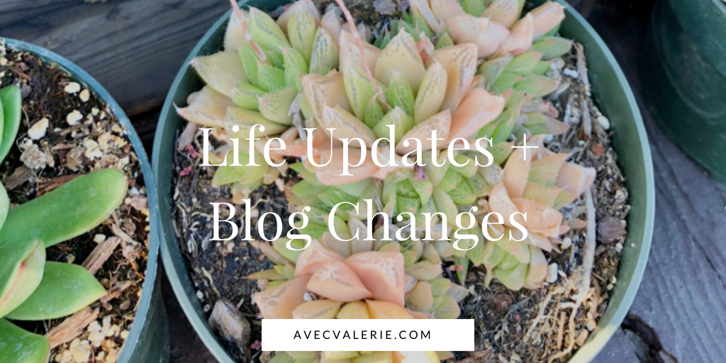 Life Updates and Blog Changes